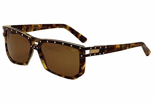 Cazal 8028 Sonnenbrille 003SG, braun-toise-braune Gläser, 60 mm
