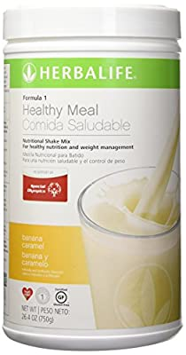 NEW FLAVOR Healthy Meal Nutritional Shake Mix - Banana Caramel 26.4oz by Herbalife