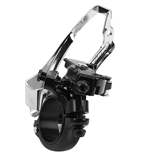 Nuobi Desviador de Bicicleta de 9 velocidades, desviador Delantero de Bicicleta Ligero de Alta compatibilidad para Tubo de 30,8/31,8/34,9 mm de diámetro