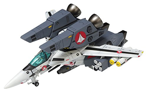 Wave 1/100 Macross VF-1S Super Valkyrie Fighter Roy Focker Specification trackable shipping