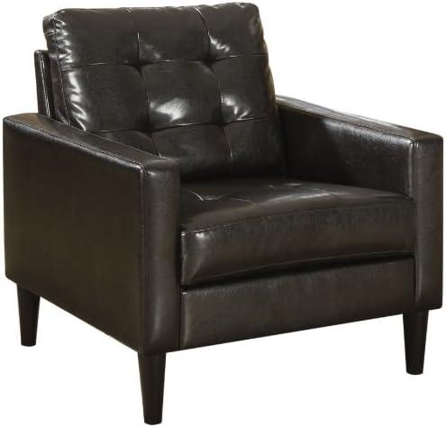 Best ACME Balin Accent Chair - 59046 - Espresso PU