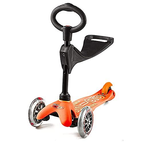 Mini Micro 3in1 deluxe monopattino arancione