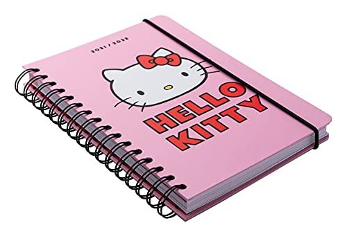 Grupo Erik Hello Kitty - Agenda escolar 2021 - 2022, 12 meses