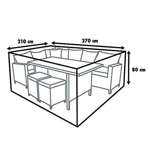 TrendLine Schutzhülle Exclusive Lounge 240x180x80 cm Abdeckung Gartenmöbel