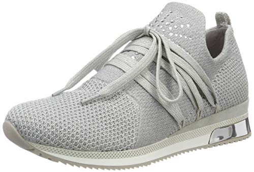 MARCO TOZZI Damen 2-2-23738-32 Slip On Sneaker, Grau (Lt.Grey Metal. 237), 37 EU