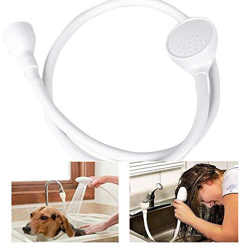 Blue Canyon Single or Double Tap Bath Sink Shower Head Hose Spray Hair Dresse...
