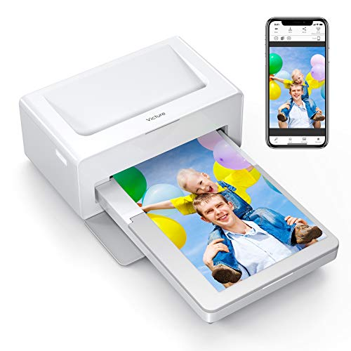 Victure Photo Printer, Print (4 x 6) Inch Photos, Bluetooth Instant Photo Printer- 40 Bundle