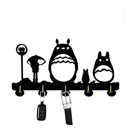 SQINAA decoración de la Pared Ganchos, Dibujo Animado de la Puerta del hogar Decoración Hooks, de múltiples Funciones de Gancho de la Pared Soporte para Llaves, Carteras, Ropa Coat