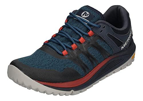 Merrell Nova GTX, Zapatillas de Running para Asfalto para Hombre, Azul (Sailor), 44 EU