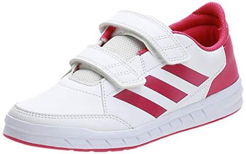 adidas Unisex-Kinder AltaSport Cf K D96828 Sneaker, Weiß (FTWR White/Real Magenta), 35 EU