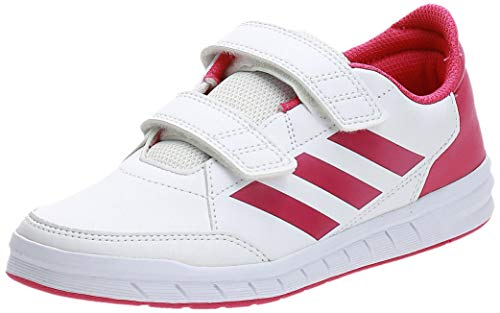 adidas Unisex-Kinder Altasport Cf K Gymnastikschuhe Weiß (FTWR White Real Magenta), 33 EU