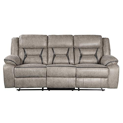 Roundhill Furniture Elkton Sofas, Polyester