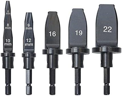 REOUG 5pcs High order Copper Pipe Swaging Tool Free shipping / New Bi Set Drill Bit Screwdriver