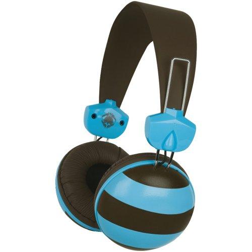 Merkury MB-HL2RT Audio-Kopfhörer für MP3-/MP4-Player, Rugby Two Tone
