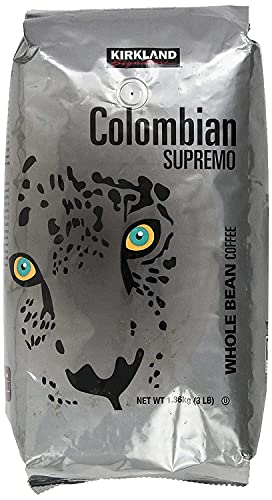 Kirkland Signature 100% Colombian Supremo Coffee, 48 Oz