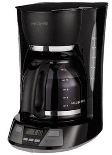 Mr. Coffee 12-Cup Programmable Coffee Maker, BVMC-AMX23, Black