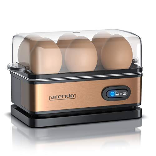 Arendo – Cuiseur à œufs avec fonction maintien au chaud - 1