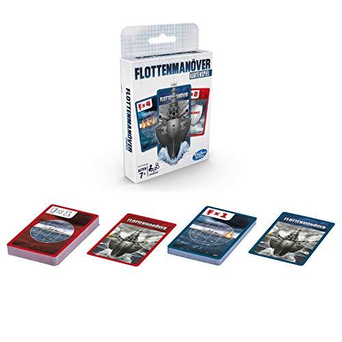 Hasbro Gaming E7971GC0 Flottenmanöver Kartenspiel für Kinder ab 7 Jahren, Strategiespiel für 2 Spieler
