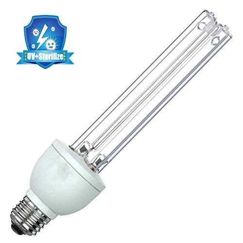 Yangm UVC-lamp met uv-licht en uv-licht, voor ontkieting, ontsmetting, bacteriële doden, mijten, deodorizer, thuis, industrie