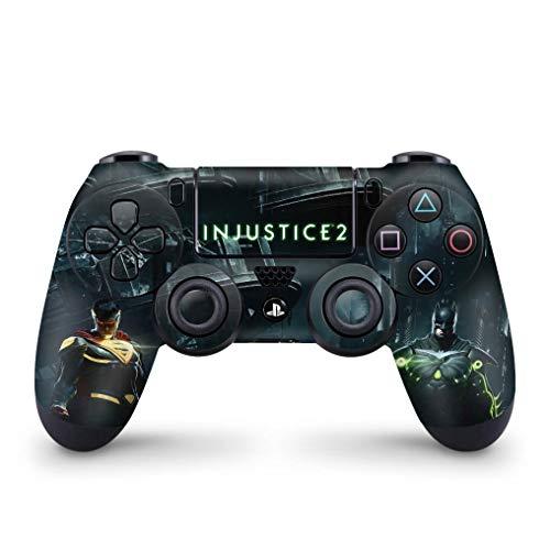 Skin Adesivo para PS4 Controle - Injustice 2