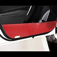 LSJVFK 車のドアトリムカーボンファイバー保護パッド、トヨタカローラ2014-16アクセサリー用