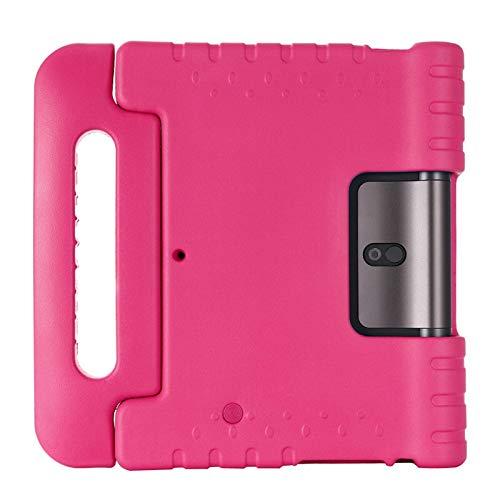 GHC PAD Fundas & Covers Para Lenovo Yoga Smart Tab 10.1 Tab 5, cubierta de tabletas con soporte de manija de soporte, Funda para niños EVA a prueba de choques para Lenovo Yoga Tab 10.1 Tab 5 yt-x705 y