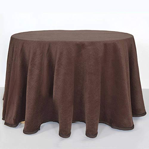 Falda ovalada para mesa camilla