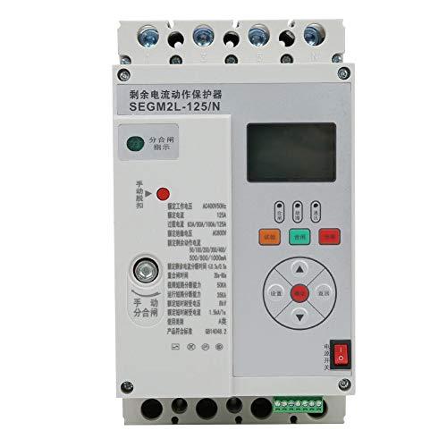 Fehlerstromschutz, SEGM2L-125/N Leistungsschalter 3-phasiger Fehlerstromschutzschalter für Leckstromschutz