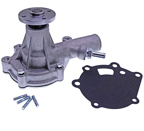 Mover Parts Water Pump MM409302 Compatible with Tractor Satoh S373D S470 S2320 ST2340 Case IH 234 235 244 245 254 255 1120 1130 Iseki TX1300 TX1410 TX1500 Mitsubishi Engine S3L S3L2 S4L S4L2 K3E K4E