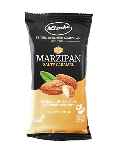 Lemke Marzipan / Backmarzipan - Salty Caramel - Salzkaramell-Marzipan mit Mandelstückchen (1x200g)