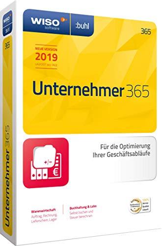 WISO Unternehmer 365 (aktuelle Version 2019) Optimierung Ihrer Geschäftsabläufe