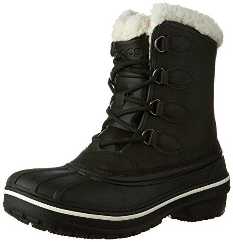 crocs AllCast II Boot, Damen Schneestiefel, Schwarz (Black 001), 42/43 EU (9 Damen UK)