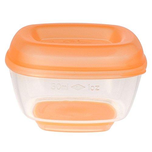 Vital Baby Gefrierschalen mini 30ml - 8 Stück orange