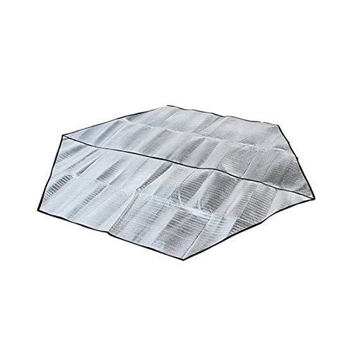 Membrana de Aluminio Hexagonal Estera a Prueba de Humedad Tiendas de campaña para Acampar al Aire Libre Estera a Prueba de húmeda para Picnic Mat Camping Beach Picnic Mat (Warna : 240 240)
