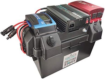 1100W 600W On Grid 500W Off Grid Hybrid Solar Generator Powerhouse MPPT and Pure Sine Battery product image