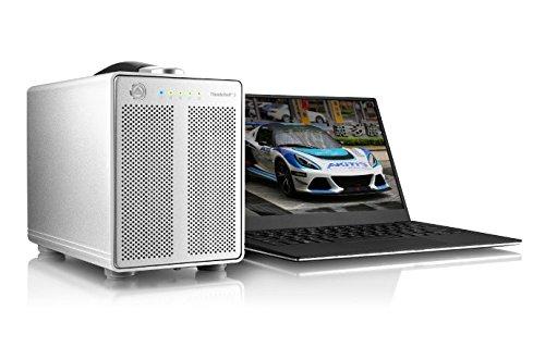 '' Akitio Box Externe Festplatte/SSD 2,5/3,5thunder3Quad mit Schnittstelle Thunderbolt 3