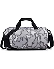 Sports Pack, Andoer 33L Travel Duffel Bag with Shoes Compartment and Wet Pocket Waterproof Sports Gym Bag Weekender Bag for Men and Women