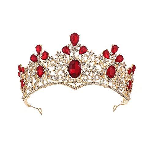 Bruiloft Diadeem kroon voor vrouwen bruidskapsel, haaraccessoires, geschikt voor bruiloften, prinses