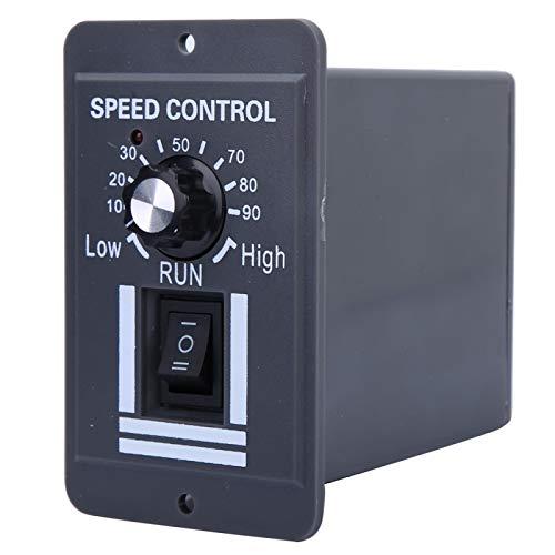 Controlador de velocidad del motor DC12V-60V Cuerpo pequeño Controlador de velocidad del motor fácil de instalar Ventilador de CC Negocio para el trabajo de regulación de velocidad del