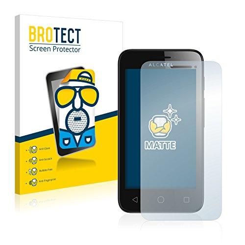 BROTECT 2X Entspiegelungs-Schutzfolie kompatibel mit Alcatel One Touch Pixi First Bildschirmschutz-Folie Matt, Anti-Reflex, Anti-Fingerprint