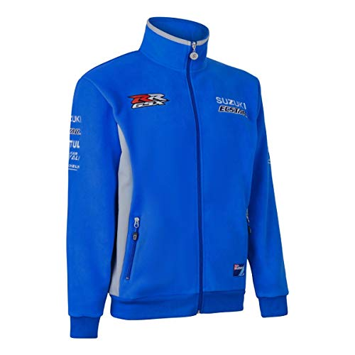 Suzuki Moto GP Fleece Sweat Jacke (XL)