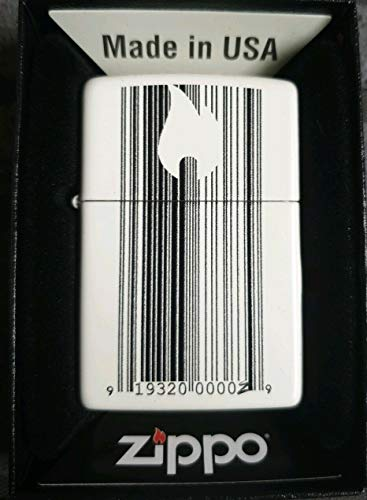 Zippo Lighters Windproof Pocket Collectors (Barcodes)