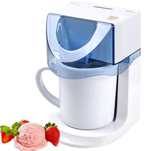 Gino Gelati GG-25W 3 in 1 Eismaschine - Frozen Yogurt Maschine - Milchshakemaschine