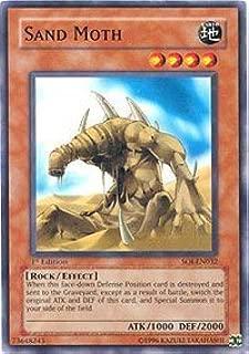 YuGiOh Shadow of Infinity Sand Moth SOI-EN032 Common [Toy]