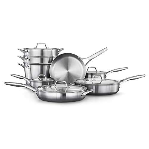 Calphalon Premier Stainless Steel Pots and Pans