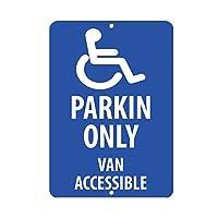 アルミメタルノベルティ危険サイン、駐車場のみバンアクセス可能な駐車場、常連客があなたのビジネスにアイテムを持ち込むのを防ぎます面白い壁アートヴィンテージに見える金属サイン