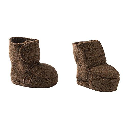Disana Baby Wollwalk-Schuhe aus reiner Bio-Merinoschurwolle (Gr. 1 (4-8 Monate), Haselnuss)