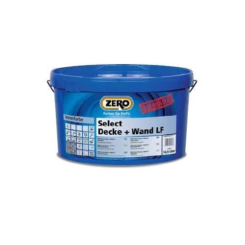 ZERO Select Decke + Wand LF weiß NEU 2,5 l