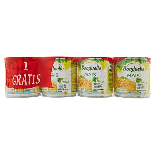 Bonduelle Mais Croccante e Naturalmente Dolce - 4 Lattine x 150 gr