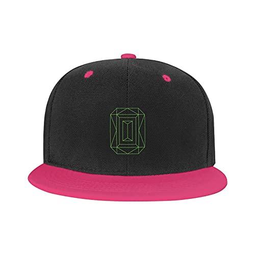 Marat Hip-Hop Cap Lord Huron Logo Ajustable Caza Unisex Deporte Sombrero Verde,...